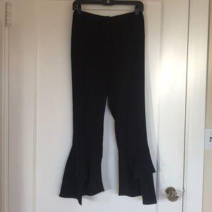 Wayf crop flare pants